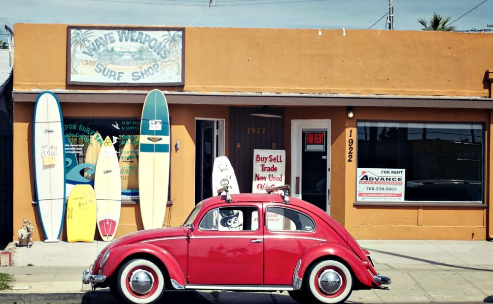 Surf Shop Web Design